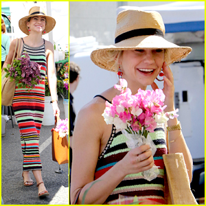 Baby Daddy's Chelsea Kane Wears The Summer Dress We All Want to Farmer's Market