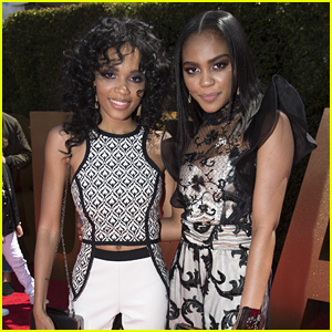 China Anne McClain & Sister Lauryn McClain Are Repping The Entire 'Descendants' Franchise at RDMAs 2017