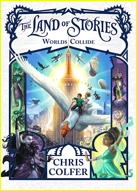 Chris Colfer's Final 'The Land of Stories' Book Cover Is Just As Magical As You'd Expect