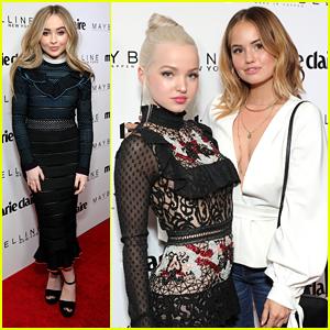 Dove Cameron & Debby Ryan Celebrate Marie Claire's 'Fresh Faces' With Sabrina Carpenter