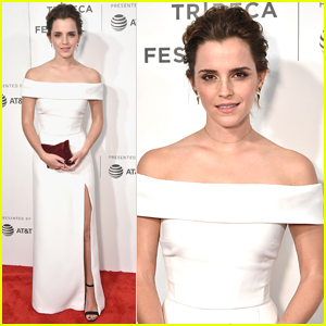 Emma Watson Stuns at the Tribeca Film Festvial