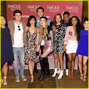 Bella Thorne & 'Famous in Love' Cast Screen the Series Premiere in NYC!