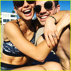 Grant Gustin Is Engaged To Girlfriend LA Thoma!