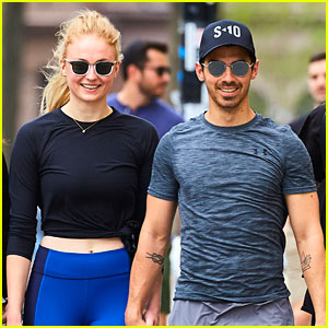 Joe Jonas & Sophie Turner Make One Happy Workout Couple