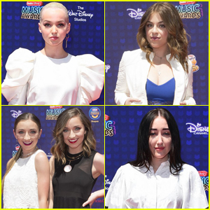 EXCLUSIVE: JJJ at RDMAs With Dove Cameron, Baby Ariel, Noah Cyrus & More!