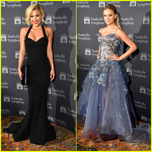 Savannah Chrisley & Kelsea Ballerini Glam Up For Zac Posen Nashville Symphony Gala Event