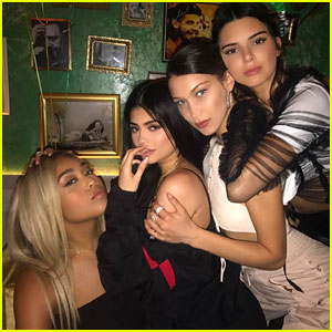 Kylie Jenner & Friends Celebrate Rumored Boyfriend Travis Scott's Birthday In Style!