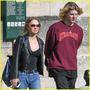 Lily-Rose Depp Does Some Retail Therapy in Paris With Boyfriend Ash Stymest