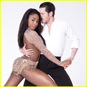 Normani Kordei & Val Chmerkovskiy Paso Doble Disney Night DWTS Season 24 Week 5