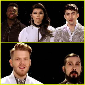 Pentatonix Serenades With New 'Can't Help Falling in Love' Cover - Watch Now!