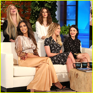 Pretty Little Liars Cast Take The 12 Days Challenge On Ellen Watch The Clip
