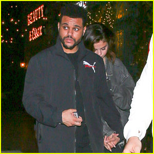 Selena Gomez & The Weeknd Holds Hands During Date Night