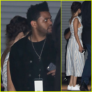 Selena Gomez Sees John Mayer in Concert with Boyfriend The Weeknd