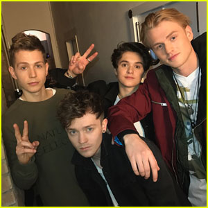 EXCLUSIVE: The Vamps Give JJJ A Behind-the-Scenes Look at Their Next Video!