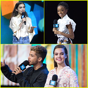 Rowan Blanchard, Skai Jackson & More Make We Day New York 2017 So Inspiring!
