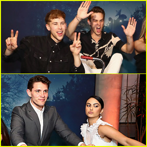 '13 Reasons Why' & 'Riverdale' Stars Have Photo Booth Fun at EW & People Party!