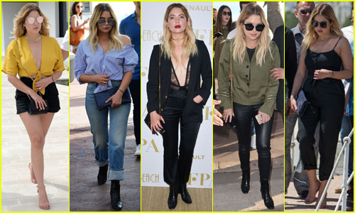 Ashley Benson Shows Off Her Cannes 2017 Style