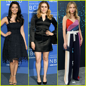 Auli'i Cravalho & Mae Whitman Promote Their New Shows at NBC Upfronts 2017