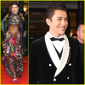 Met Gala 2017: Austin Mahone, Sonia Ben Ammar & Corinne Foxx Wear Dolce & Gabbana