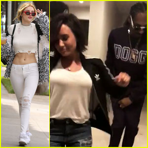Bella Thorne Parties With Her Crush Demi Lovato!