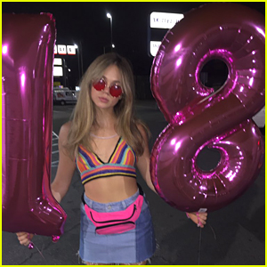 Brec Bassinger Rings In 18th Birthday By Going Skydiving!
