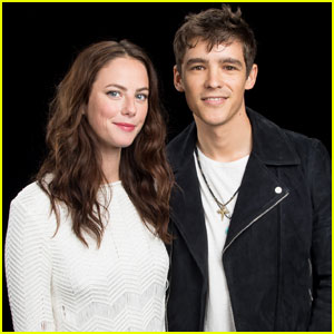 Brenton Thwaites Talks About Playing Orlando Bloom's Son in 'Pirates 5'