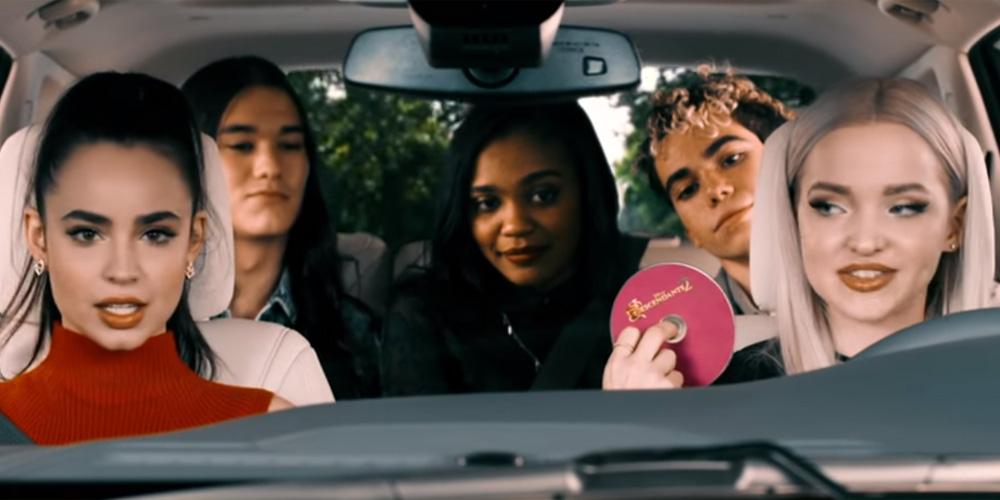 Dove Cameron Amp Sofia Carson Spoof Carpool Karaoke With
