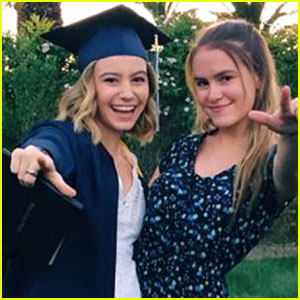 G Hannelius Graduates High School -- Pics Inside!