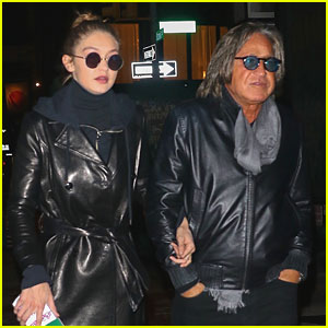 Gigi Hadid Has Bonding Time With Dad Mohamed