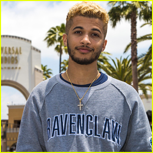 Singer Jordan Fisher Is Seriously Stoked About Which Hogwarts House He Was Sorted Into