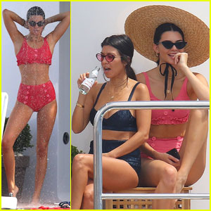 f35c094c9c Kendall Jenner Parties on Yacht in Cannes With Hailey Baldwin   Kourtney  Kardashian