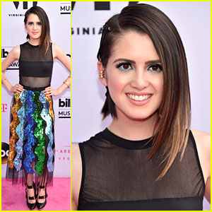Laura Marano is Killing It as Co-host on the Red Carpet of the Billboard Music Awards 2017