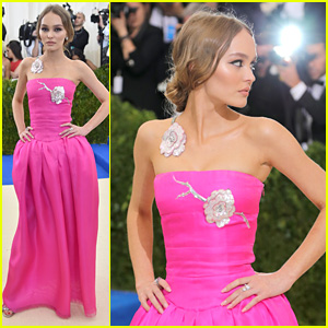 Lily-Rose Depp Has The Perfect Prom Look at Met Gala 2017