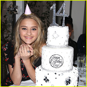 Lizzy Greene Hosts Sparkly 14th Birthday Party with BFFs