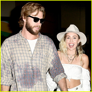 Liam Hemsworth Was Backstage at BBMAs 2017 with Miley Cyrus!