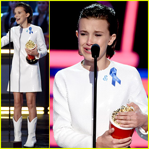 Millie Bobby Brown's Speech at MTV Movie & TV Awards 2017 Might Make You Cry!