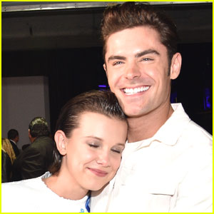 Millie Bobby Brown Meets Zac Efron, Looks Like She's in Heaven