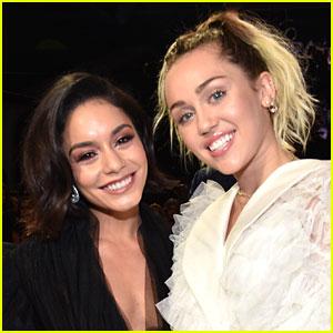 Miley Cyrus & Vanessa Hudgens's Disney Channel Reunion at the Billboard Music Awards 2017