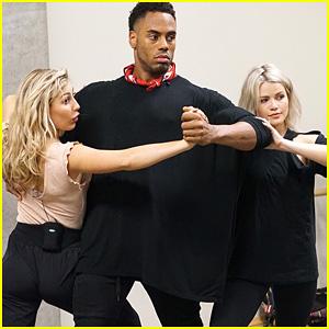Rashad Jennings Trio Dance With Emma Slater & Witney Carson DWTS Season 24 Week 8