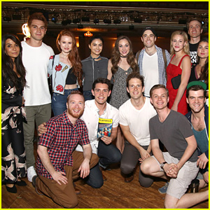 The 'Riverdale' Cast Visited Casey Cott's Brother on Broadway - Pics!