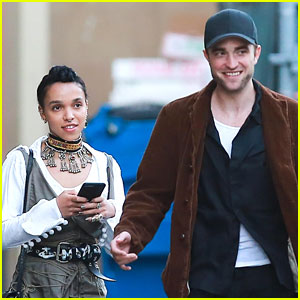 Robert Pattinson Celebrates Birthday With Fiancee FKA Twigs