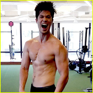 Ross Butler Has A Super Intense Birthday Workout