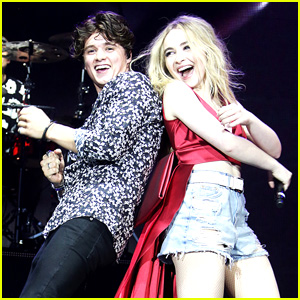 The Vamps Had The Entire O2 Arena Sing 'Happy Birthday' To Sabrina Carpenter