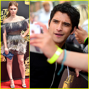 Tyler Posey & Holland Roden Bring 'Teen Wolf' to MTV Movie & TV Awards 2017