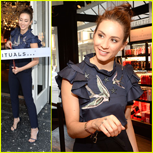 Teen hollywood celebrity news and gossip just jared jr page 3547 troian bellisario gets inspired by fans after nyc meet greet m4hsunfo