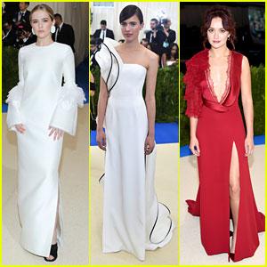 Zoey Deutch, Margaret Qualley, & Olivia Cooke Are Met Gala 2017 Pictures of Elegance