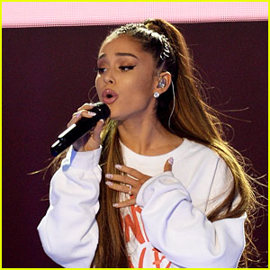 Ariana Grande Wore a Diamond Ring on THAT Finger & Fans Are Freaking Out