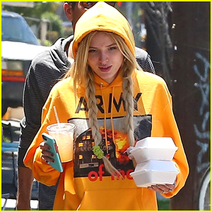 Bella Thorne Grabs Lunch to Go in Los Angeles