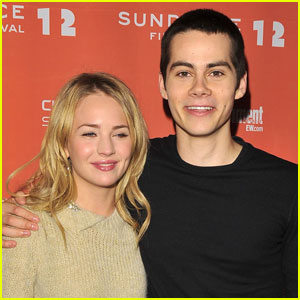 Britt Robertson & Dylan O'Brien's Engagement Announcement Isn't Real, Sorry