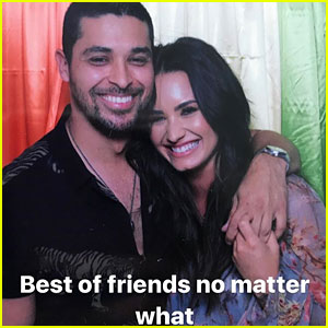 Exes Demi Lovato & Wilmer Valderrama Get Together for Barbecue at Her House